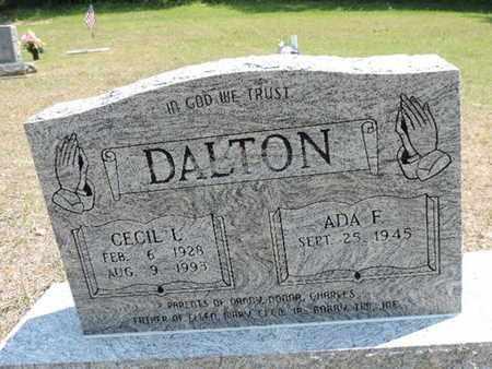 DALTON, CECIL L. - Pike County, Ohio | CECIL L. DALTON - Ohio Gravestone Photos