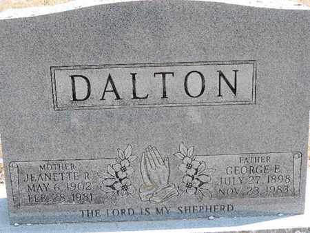 DALTON, JEANTTE R. - Pike County, Ohio | JEANTTE R. DALTON - Ohio Gravestone Photos