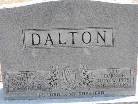 DALTON, GEORGE E. - Pike County, Ohio | GEORGE E. DALTON - Ohio Gravestone Photos