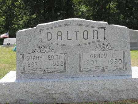 DALTON, SARAH EDITH - Pike County, Ohio | SARAH EDITH DALTON - Ohio Gravestone Photos