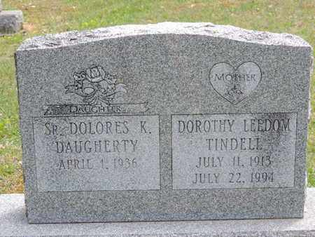 TINDELL, DOROTHY LEEDOM - Pike County, Ohio   DOROTHY LEEDOM TINDELL - Ohio Gravestone Photos