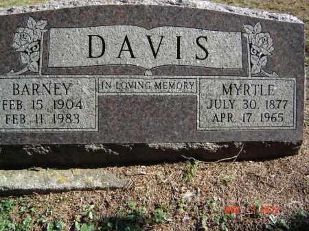 DAVIS, BARNEY - Pike County, Ohio   BARNEY DAVIS - Ohio Gravestone Photos