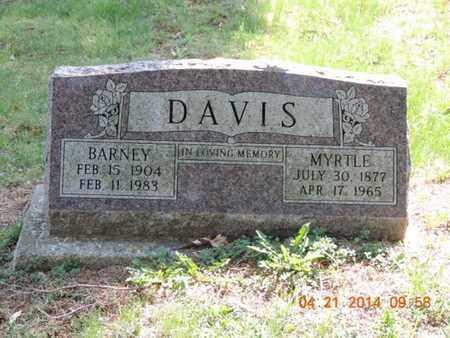 DAVIS, MYRTLE - Pike County, Ohio | MYRTLE DAVIS - Ohio Gravestone Photos