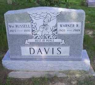 DAVIS, WM. RUSSELL - Pike County, Ohio | WM. RUSSELL DAVIS - Ohio Gravestone Photos