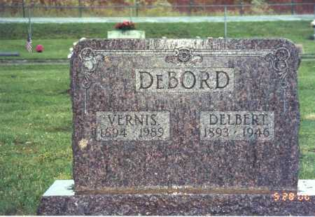 TEWKSBURY DEBORD, VERNIS - Pike County, Ohio | VERNIS TEWKSBURY DEBORD - Ohio Gravestone Photos