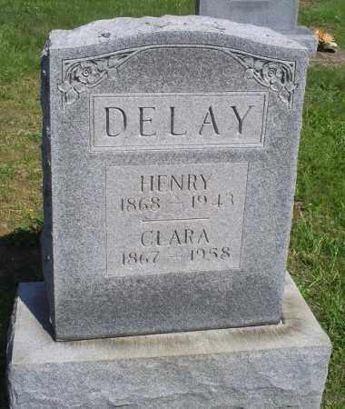 DELAY, HENRY - Pike County, Ohio   HENRY DELAY - Ohio Gravestone Photos