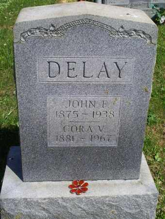 DELAY, JOHN F. - Pike County, Ohio | JOHN F. DELAY - Ohio Gravestone Photos