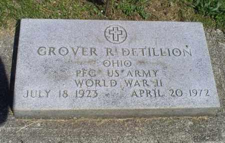 DETILLION, GROVER R. - Pike County, Ohio | GROVER R. DETILLION - Ohio Gravestone Photos