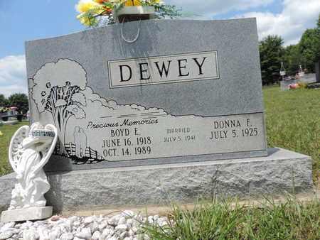 DEWEY, DONNA F. - Pike County, Ohio | DONNA F. DEWEY - Ohio Gravestone Photos