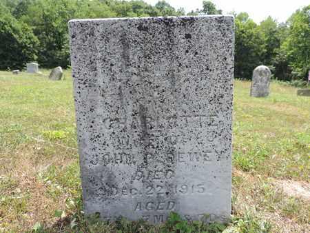 DEWEY, CHARLOTTE - Pike County, Ohio | CHARLOTTE DEWEY - Ohio Gravestone Photos