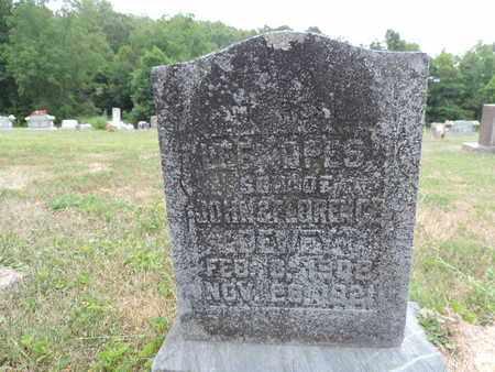 DEWEY, LEE OPES - Pike County, Ohio | LEE OPES DEWEY - Ohio Gravestone Photos