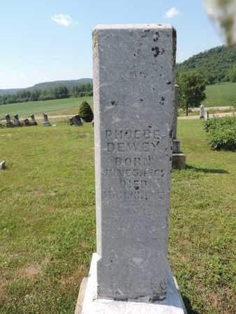 DEWEY, PHOEBE - Pike County, Ohio   PHOEBE DEWEY - Ohio Gravestone Photos