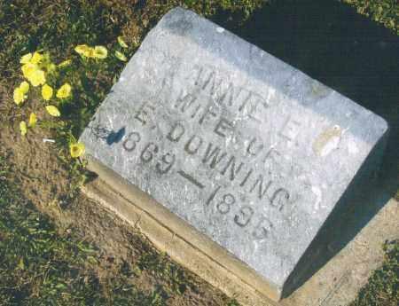 DOWNING, ANNIE - Pike County, Ohio | ANNIE DOWNING - Ohio Gravestone Photos