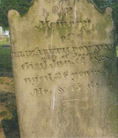 DOWNING, ELIZABETH MAY - Pike County, Ohio | ELIZABETH MAY DOWNING - Ohio Gravestone Photos
