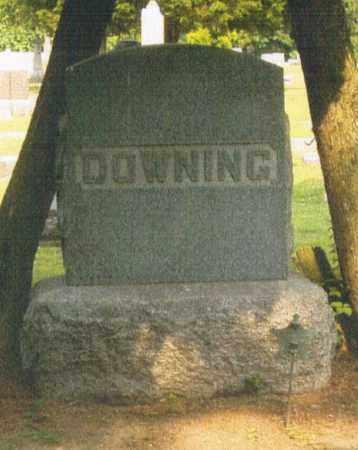 DOWNING, FAMILY MONUMENT - Pike County, Ohio   FAMILY MONUMENT DOWNING - Ohio Gravestone Photos