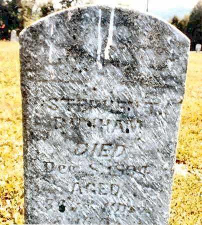 DUNHAM, STEPHEN T. - Pike County, Ohio   STEPHEN T. DUNHAM - Ohio Gravestone Photos