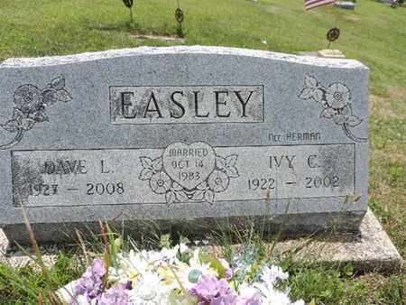 EASLEY, DAVE L. - Pike County, Ohio | DAVE L. EASLEY - Ohio Gravestone Photos