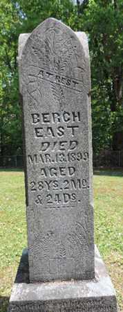 EAST, BERCH - Pike County, Ohio   BERCH EAST - Ohio Gravestone Photos