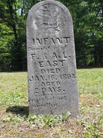 EAST, INFANT - Pike County, Ohio | INFANT EAST - Ohio Gravestone Photos