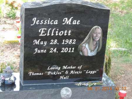 ELLIOTT, JESSICA MAE - Pike County, Ohio | JESSICA MAE ELLIOTT - Ohio Gravestone Photos