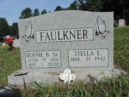 FAULKNER, BERNIE B. SR. - Pike County, Ohio   BERNIE B. SR. FAULKNER - Ohio Gravestone Photos