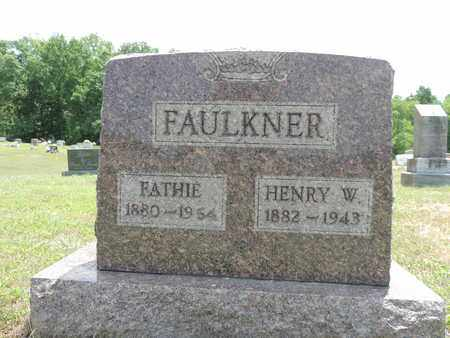 FAULKNER, FATHIE - Pike County, Ohio | FATHIE FAULKNER - Ohio Gravestone Photos