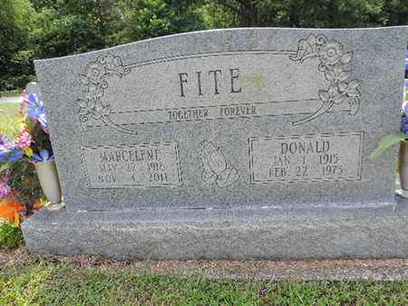 FITE, DONALD - Pike County, Ohio | DONALD FITE - Ohio Gravestone Photos