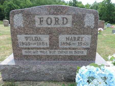 FORD, HARRY - Pike County, Ohio   HARRY FORD - Ohio Gravestone Photos