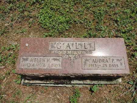 GALL, HELEN L. - Pike County, Ohio | HELEN L. GALL - Ohio Gravestone Photos