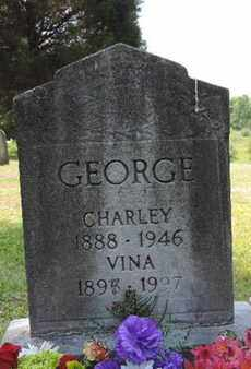 GEORGE, CHARLEY - Pike County, Ohio | CHARLEY GEORGE - Ohio Gravestone Photos