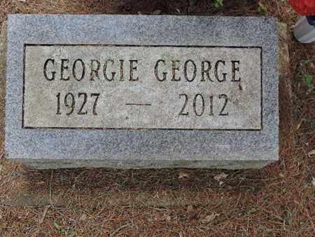 GEORGE, GEORGIE - Pike County, Ohio | GEORGIE GEORGE - Ohio Gravestone Photos