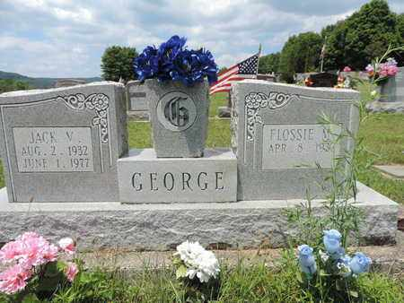 GEORGE, JACK V - Pike County, Ohio | JACK V GEORGE - Ohio Gravestone Photos