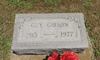 GIBSON, GUY - Pike County, Ohio | GUY GIBSON - Ohio Gravestone Photos