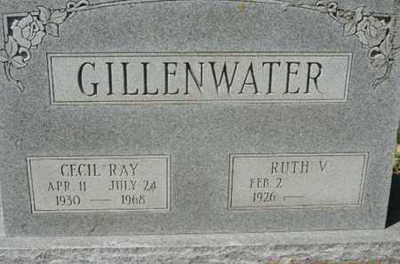 GILLENWATER, RUTH V. - Pike County, Ohio | RUTH V. GILLENWATER - Ohio Gravestone Photos
