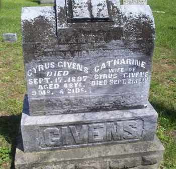 GIVENS, CYRUS - Pike County, Ohio | CYRUS GIVENS - Ohio Gravestone Photos