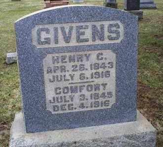 GIVENS, COMFORT - Pike County, Ohio | COMFORT GIVENS - Ohio Gravestone Photos