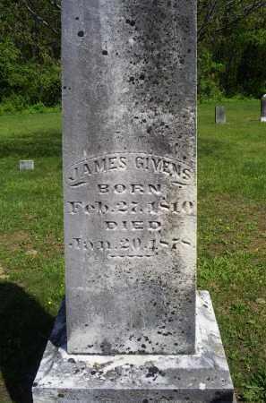 GIVENS, JAMES - Pike County, Ohio   JAMES GIVENS - Ohio Gravestone Photos