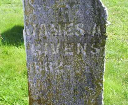 GIVENS, JAMES A. - Pike County, Ohio   JAMES A. GIVENS - Ohio Gravestone Photos