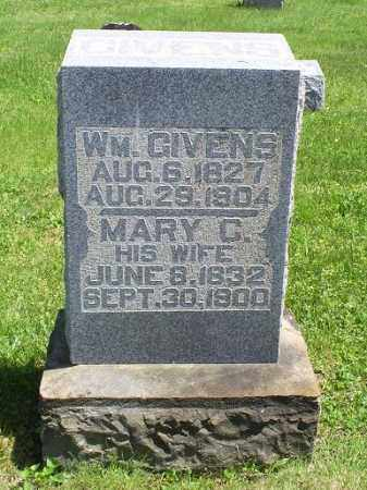 GIVENS, MARY C. - Pike County, Ohio   MARY C. GIVENS - Ohio Gravestone Photos