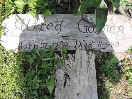 GO MAN, ALFRED - Pike County, Ohio | ALFRED GO MAN - Ohio Gravestone Photos