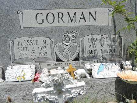 GORMAN, EDWARD E. - Pike County, Ohio   EDWARD E. GORMAN - Ohio Gravestone Photos