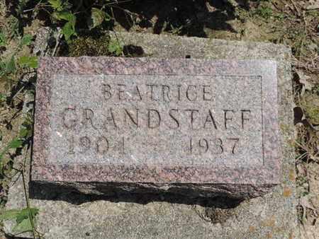 GRANDSTAFF, BEATRICE - Pike County, Ohio | BEATRICE GRANDSTAFF - Ohio Gravestone Photos