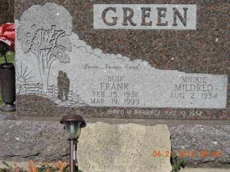 GREEN, MILDRED - Pike County, Ohio | MILDRED GREEN - Ohio Gravestone Photos