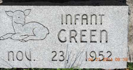 GREEN, INFANT - Pike County, Ohio | INFANT GREEN - Ohio Gravestone Photos