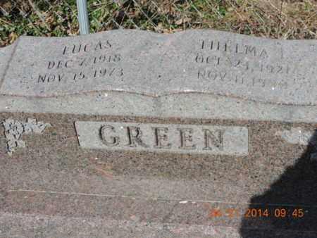 GREEN, THELMA L - Pike County, Ohio   THELMA L GREEN - Ohio Gravestone Photos