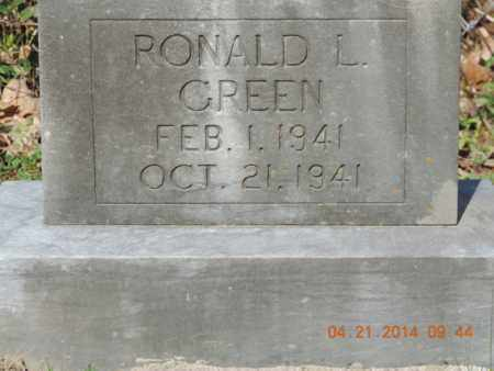 GREEN, RONALD L - Pike County, Ohio | RONALD L GREEN - Ohio Gravestone Photos