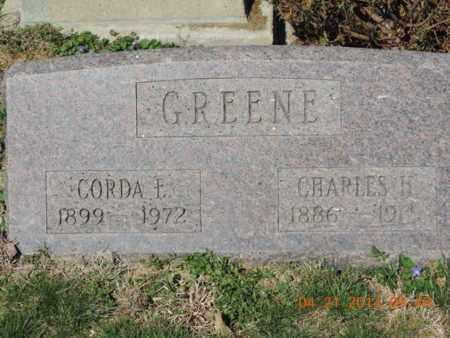 GREENE, CHARLES H - Pike County, Ohio   CHARLES H GREENE - Ohio Gravestone Photos