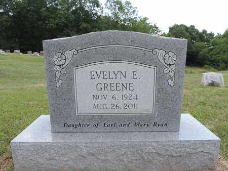 RYAN GREENE, EVELYN E. - Pike County, Ohio | EVELYN E. RYAN GREENE - Ohio Gravestone Photos