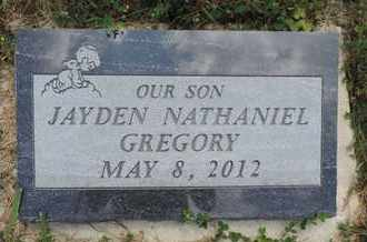 GREGORY, JAYDEN NATHANIEL - Pike County, Ohio | JAYDEN NATHANIEL GREGORY - Ohio Gravestone Photos