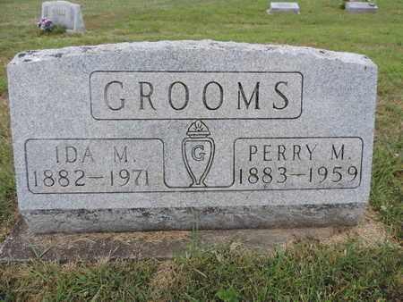 GROOMS, PERRY M. - Pike County, Ohio | PERRY M. GROOMS - Ohio Gravestone Photos